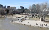 View of the Forks from the Water