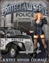 Police Dept - Protect And Serve