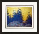 Blue Spruce - Numbered By Artist Lawren S. Harris