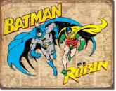 Batman And Robin - Weathered