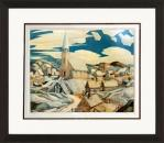 North Town - Numbered By Artist Franklin Carmichael