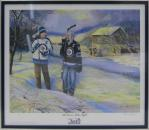 The Dream Takes Flight Winnipeg Jets Framed Print