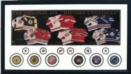 Original Six Jerseys With Pucks and Pins