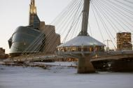 Provencher Bridge in Winter (Close Up)
