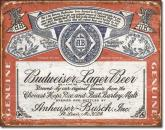 Budweiser - Historic Label