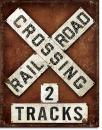 Railroad Crossing - 2 Tracks