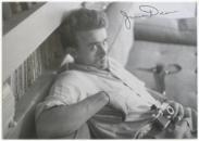 James Dean With Camera