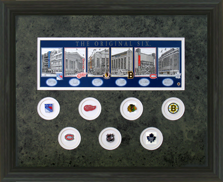 The Original Six Hockey Arenas And Pins Hockey Sports