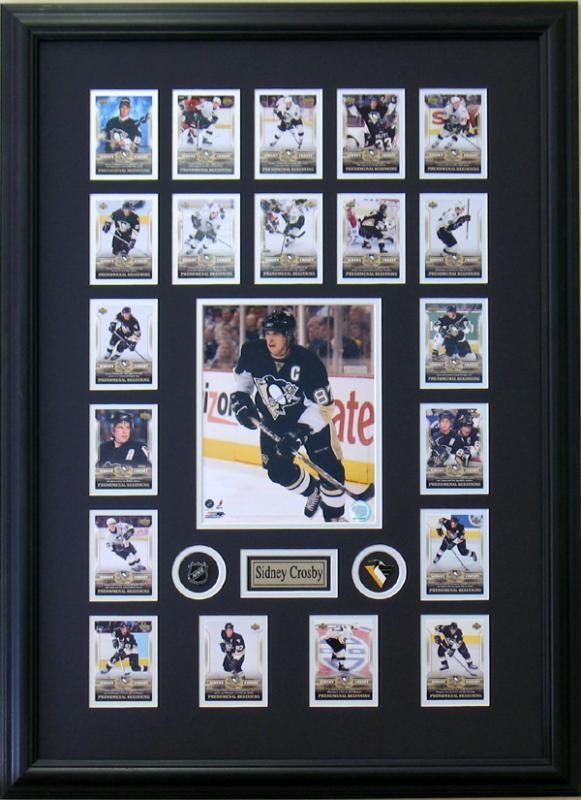 Sidney Crosby Hockey Sports Framed Art Wall Decor