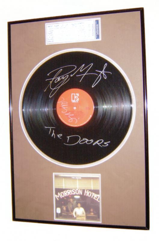 Framed Vinyl Record Examples Custom Framing Pictures