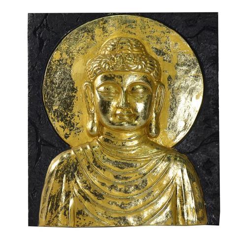 Golden Buddha | Metal Art | Wall Decor | Metal Decor | Wall Art ...