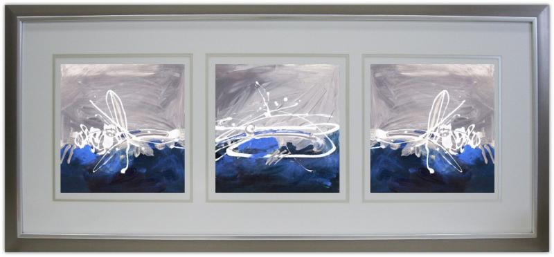 Abstract Triptych I | Abstract | Framed Art | Wall Decor | Art ...