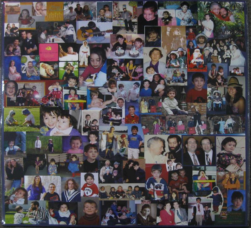 Examples Of Social Policy >> Collages | Examples | Custom Framing | Pictures Frames and ...