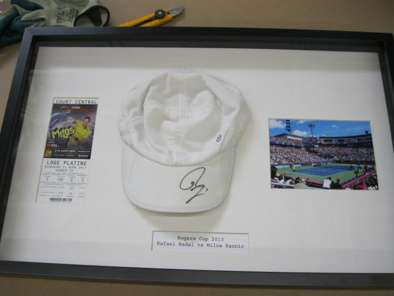 Tennis Memorabilia | Examples | Custom Framing | Pictures Frames and ...