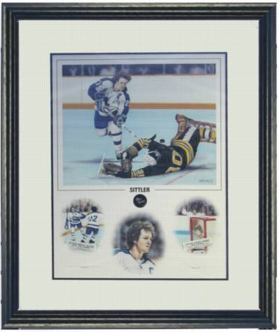 Limited Edition Signed Darryl Sittler Limited Edition