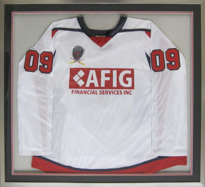 Custom Oversized Framed Jersey | Custom Memorabilia Displays ...