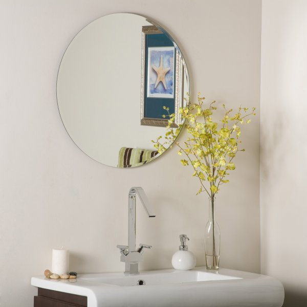 Frameless Bevelled Mirrors